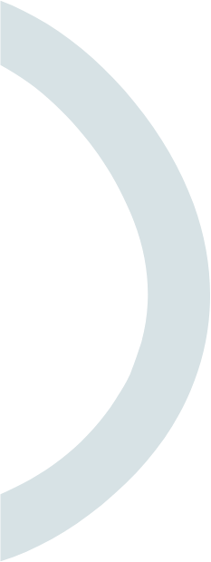 blue o ring semi circle