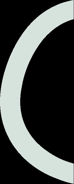 green o ring semi circle