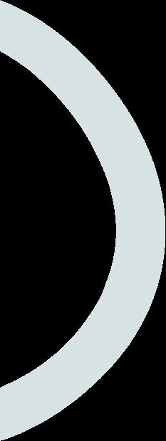 blue semi circle